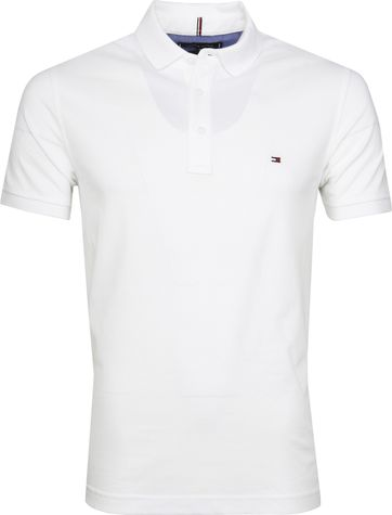 Tommy Hilfiger Core Poloshirt Weiß