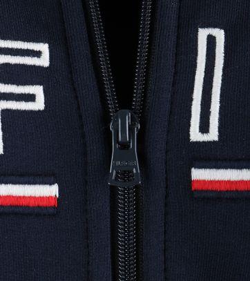 Detail Tommy Hilfiger Demi Vest Donkerblauw