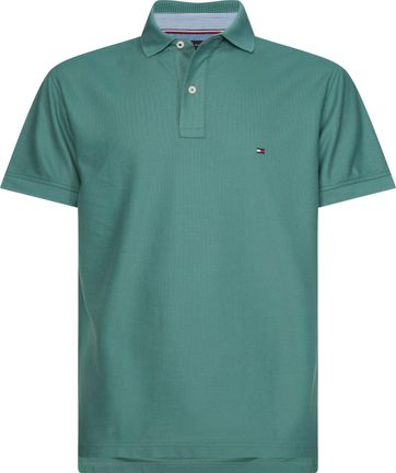 Tommy Hilfiger Donkergroen Polo