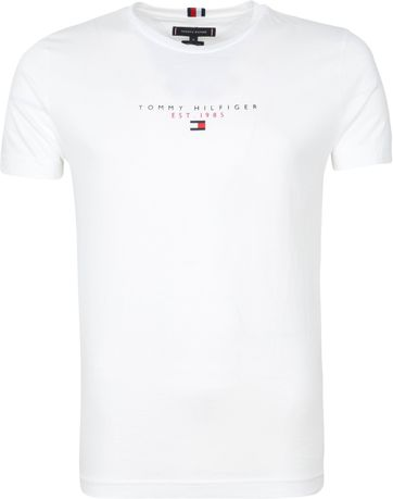 Tommy Hilfiger Essential T Shirt White