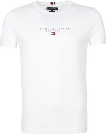 Tommy Hilfiger Essential T-shirt Wit