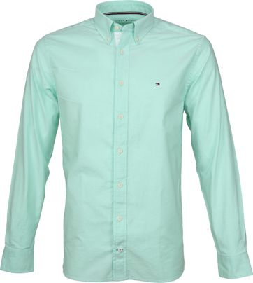 Tommy Hilfiger Green Oxford Shirt
