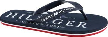 Tommy Hilfiger Hausschuhe Nautical Print Navy
