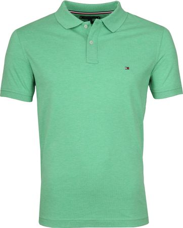 Tommy Hilfiger Heather Polo Groen