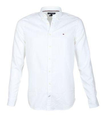 Tommy Hilfiger Hemd Dobby Weiß