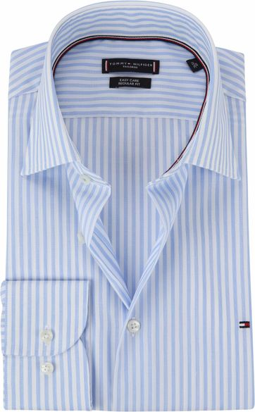 Tommy Hilfiger Hemd Linie Blau