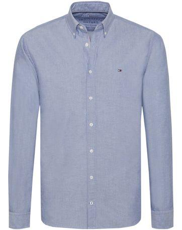 Tommy Hilfiger Hemd Oxford Blau