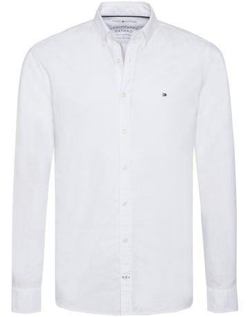 Tommy Hilfiger Hemd Oxford Weiß