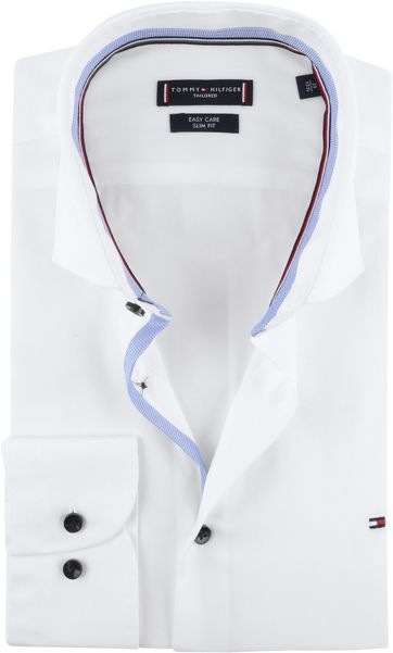 Tommy Hilfiger Hemd SF Weiß