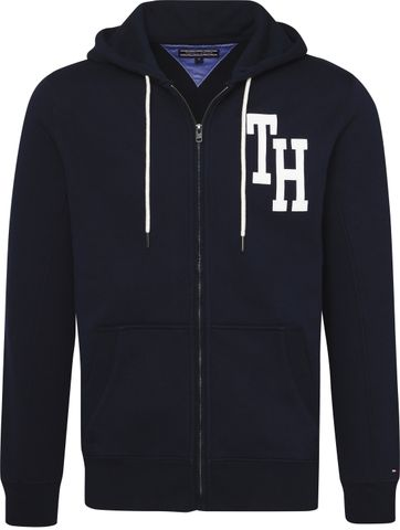 Tommy Hilfiger Hoodie Captain Navy