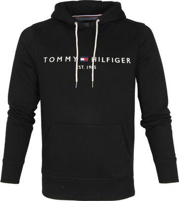 Tommy Hilfiger Hoodie Core Schwarz