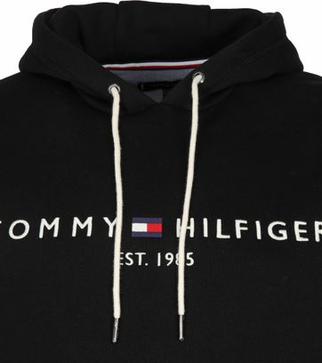 Tommy Hilfiger Hoodie Core Zwart