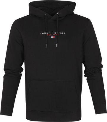 Tommy Hilfiger Hoodie Essential Zwart