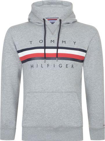 Tommy Hilfiger Hoodie Logo Grau