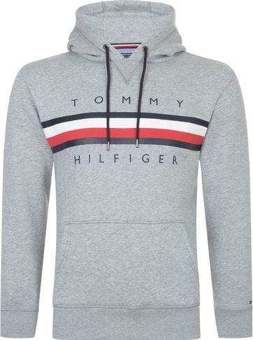 Tommy Hilfiger Hoodie Logo Grey