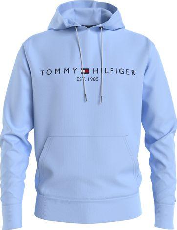 Tommy Hilfiger Hoodie Logo Hellblau