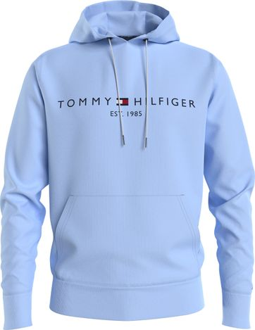 Tommy Hilfiger Hoodie Logo Light Blue