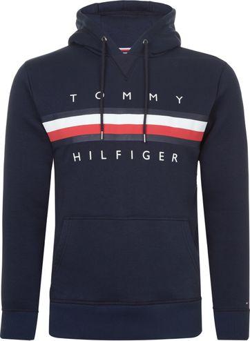 Tommy Hilfiger Hoodie Logo Navy