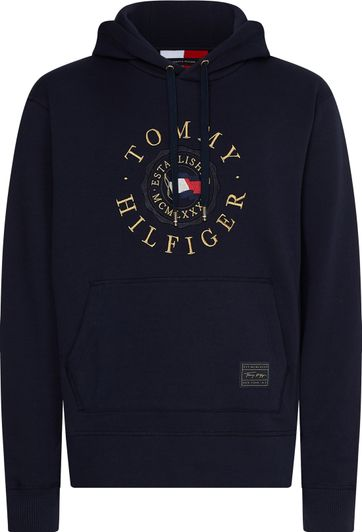 Tommy Hilfiger Icon Hoodie Donkerblauw
