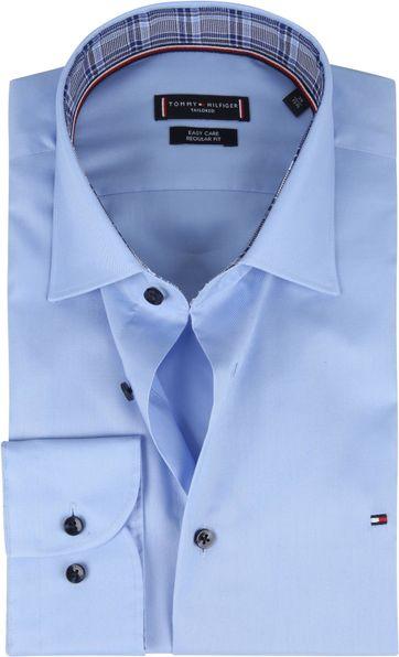 Tommy Hilfiger Klassiek Overhemd Lichtblauw