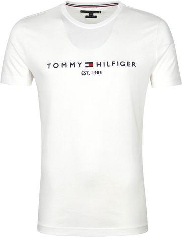 Tommy Hilfiger Logo T-Shirt Weiß