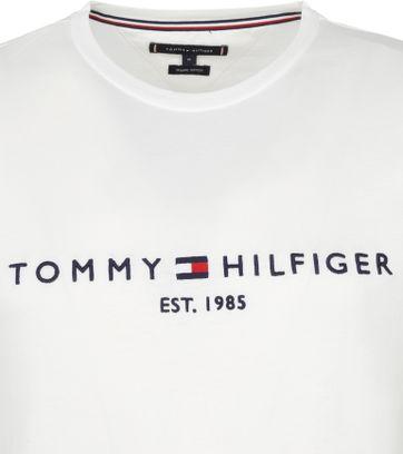Tommy Hilfiger Logo T Shirt White