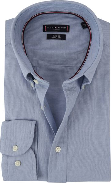 Tommy Hilfiger Overhemd BD Blauw
