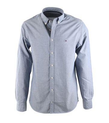 Tommy Hilfiger Overhemd Blauw Oxford