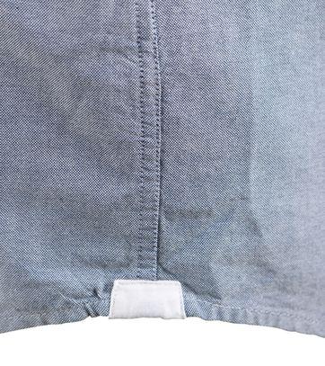 Detail Tommy Hilfiger Overhemd Blauw Oxford