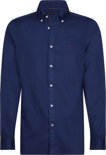 Tommy Hilfiger Overhemd Blue Ink