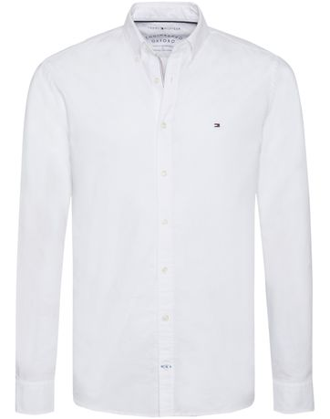 Tommy Hilfiger Overhemd Oxford Wit