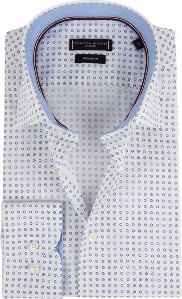 Tommy Hilfiger Overhemd Poplin Blauw