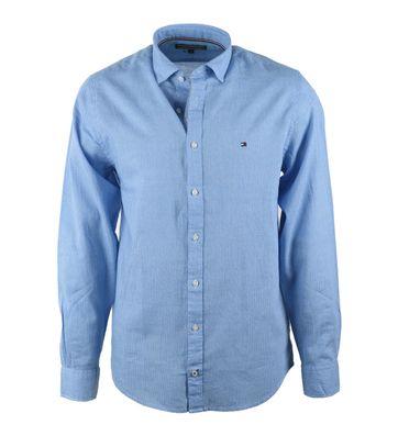Tommy Hilfiger Overhemd Ron Blauw