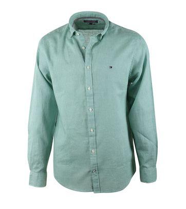 Tommy Hilfiger Overhemd Ron Groen