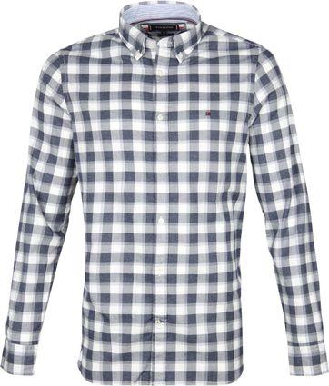 Tommy Hilfiger Overhemd Ruiten Blauw