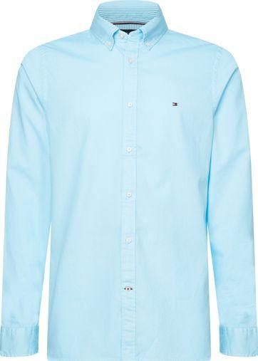 Tommy Hilfiger Overhemd Sail Blue