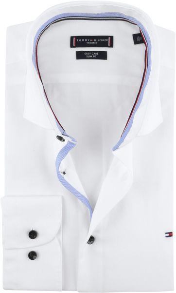 Tommy Hilfiger Overhemd SF Wit