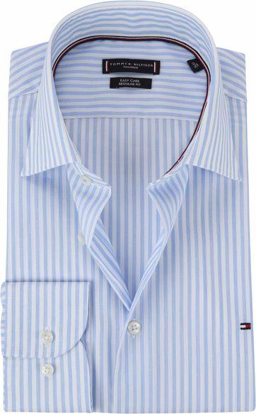 Tommy Hilfiger Overhemd Streep Blauw