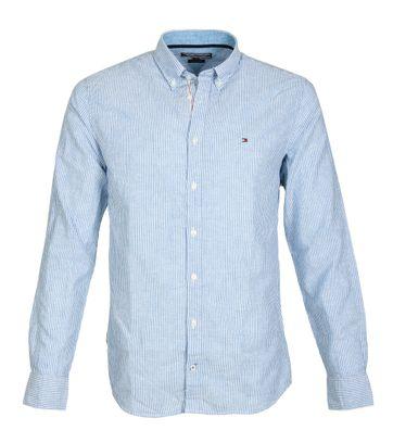Tommy Hilfiger Overhemd Strepen Blauw