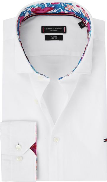 Tommy Hilfiger Overhemd Wit