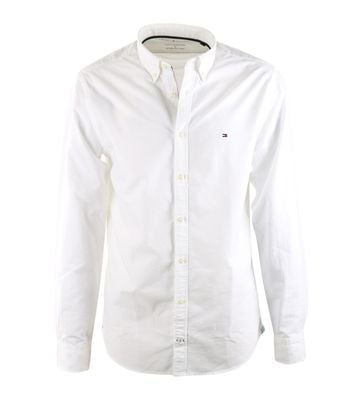 Tommy Hilfiger Overhemd Wit Oxford