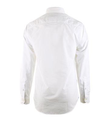 Detail Tommy Hilfiger Overhemd Wit Oxford