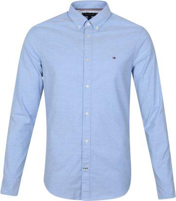 Tommy Hilfiger Oxford Hemd Hellblau