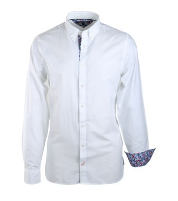Tommy Hilfiger Oxford Hemd Wit