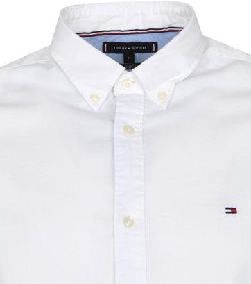 Tommy Hilfiger Oxford Overhemd Wit