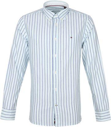 Tommy Hilfiger Oxford Shirt Stripes Light Blue