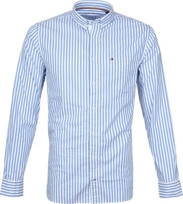 Tommy Hilfiger Oxford Stripes Shirt Blue