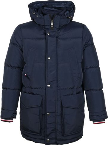 Tommy Hilfiger Parka Jacket Navy