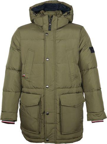 Tommy Hilfiger Parka Jacket Olive
