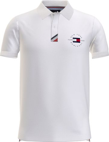 Tommy Hilfiger Plus Polo Placket Wit